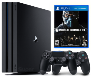 Sony Playstation 4 PRO 1Tb + Mortal Kombat XL + Dualshock 4