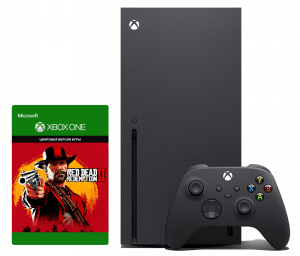 Xbox Series X + Red Dead Redemption 2