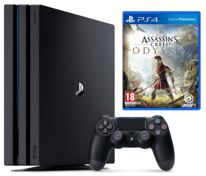 Sony Playstation 4 PRO 1Tb + Assassin's Creed Odyssey