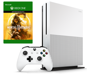 Microsoft Xbox One S 500Gb + Mortal Kombat 11