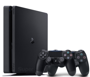 Sony Playstation 4 Slim 500Gb + Dualshock 4 (Black)