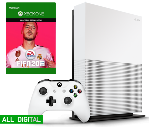 Microsoft Xbox One S 1Tb All-Digital Edition + FIFA 20