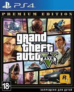GTA 5: Grand Theft Auto V Premium Edition (PS4)
