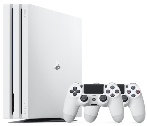 Sony Playstation 4 PRO 1Tb Glacier White + Dualshock 4 (White)