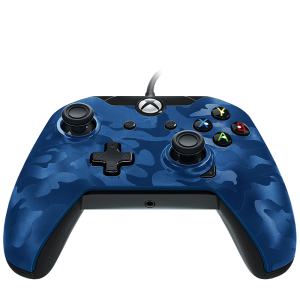 Геймпад PDP Wired Controller - Blue Camo