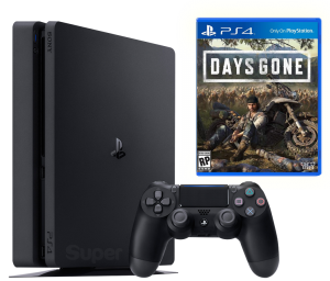 Sony Playstation 4 Slim 1Tb + Days Gone
