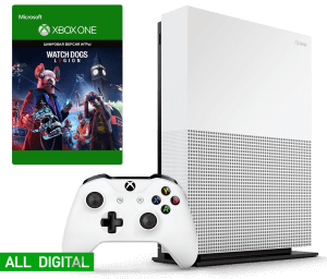 Microsoft Xbox One S 1Tb All-Digital Edition + Watch Dogs Legion
