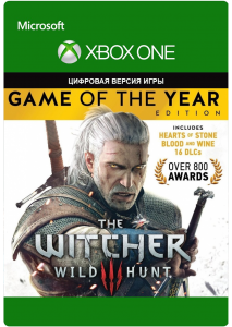 The Witcher 3: Game Of The Year Edition (XBOX ONE)