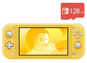 Nintendo Switch Lite (Yellow) + Micro SD 128Gb + 20 Игр В Комплекте
