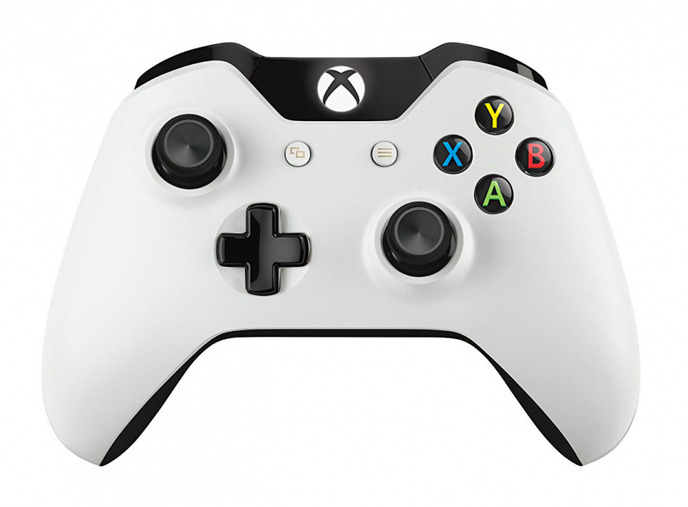 microsoft xbox one wireless controller oem lunar white 1 300 super. Black Bedroom Furniture Sets. Home Design Ideas