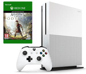 Microsoft Xbox One S 1Tb + Assassin's Creed Odyssey