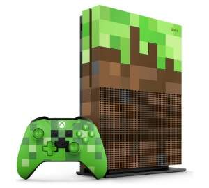 Microsoft Xbox One S 1Tb Minecraft Limited Edition