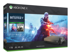 Microsoft Xbox One X Gold Rush Special Edition Battlefield™ V Bundle