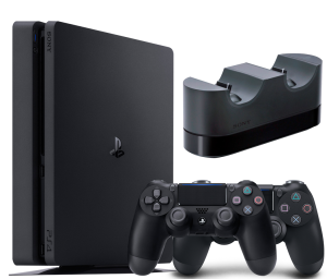 Sony Playstation 4 Slim 500Gb + Dualshock 4 + Зарядная станция