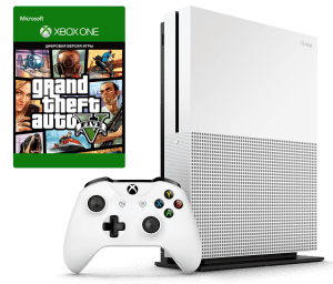 Microsoft Xbox One S 500Gb + GTA V