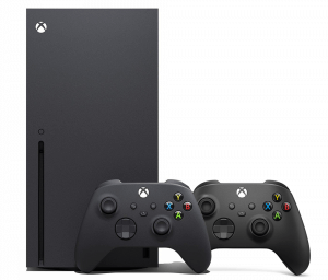 Xbox Series X + Wireless Controller (Carbon Black)