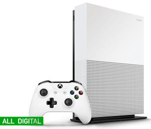 Microsoft Xbox One S 1Tb All-Digital Edition (Б/У)