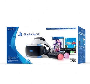 Playstation VR + Playstation Camera + Move + Blood & Truth + Everybody's Golf VR