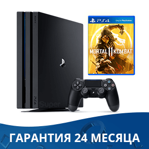 Sony Playstation 4 PRO 1Tb + Mortal Kombat 11