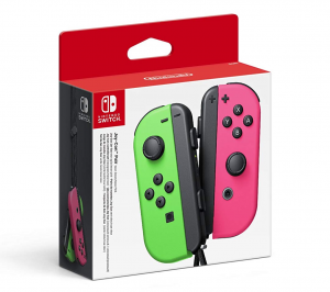 Nintendo Switch Joy-Con Pair (Neon Green/Neon Pink)