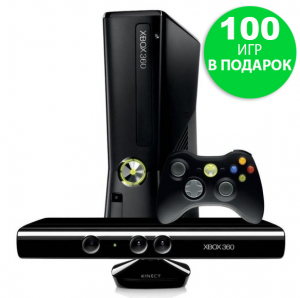 Microsoft Xbox 360 Slim 500gb (LT+3.0 + Freeboot) + Kinect