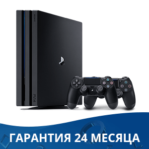 Sony Playstation 4 PRO 1Tb + Dualshock 4 (Black)