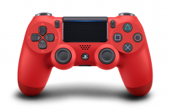 Sony Dualshock 4 (PS4) Magma Red (v.2)