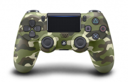 Sony Dualshock 4 (PS4) Green Camouflage (v.2)