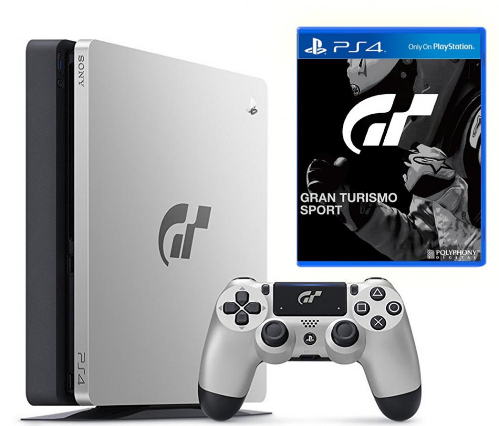 Efterstræbte Sony PlayStation 4 Slim 1TB + Gran Turismo Sport | Купить - Super - VG-95
