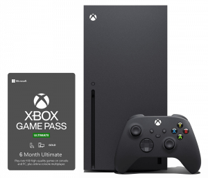 Xbox Series X + Xbox Game Pass Ultimate на 7 месяцев (более 100 игр)