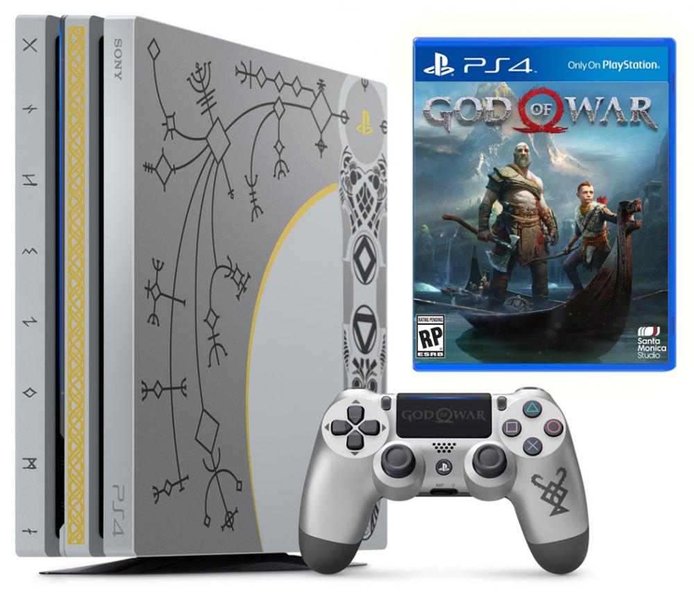 Sony Playstation 4 Pro 1tb Limited Edition God Of War