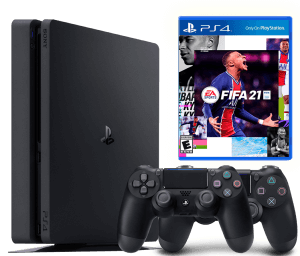 Sony Playstation 4 Slim 1Tb + FIFA 21 + Dualshock 4