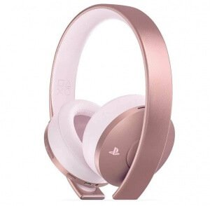 Sony PlayStation Gold Wireless Headset (Rose Gold)