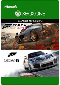 Forza Horizon 4 + Forza Motorsport 7 (XBOX ONE)