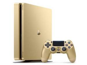 Sony Playstation 4 Slim 500Gb (firmware 4,55) Gold