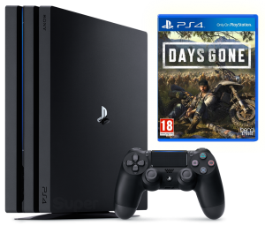 Sony Playstation 4 PRO 1Tb + Days Gone
