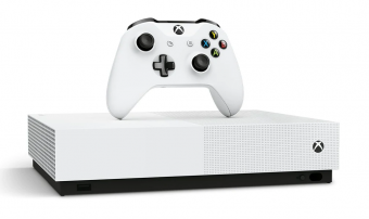 microsoft xbox one s 1tb all-digital edition + assassin's creed valhalla фото