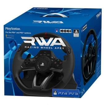 руль hori racing wheel apex (ps4/ps3/pc) фото