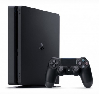 sony playstation 4 slim 1tb + horizon zero dawn фото