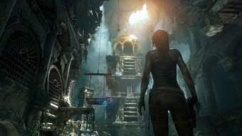 rise of the tomb raider (ps4) фото