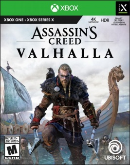 assassin's creed valhalla (xbox one) disc фото