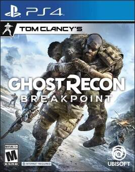 tom clancy's ghost recon: breakpoint (ps4) фото