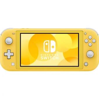 nintendo switch lite (yellow) фото