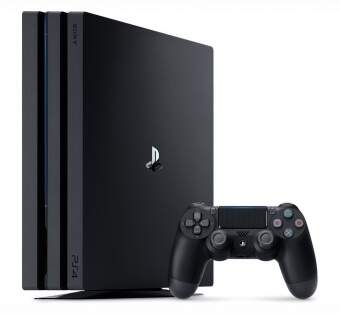 sony playstation 4 pro 1tb + mortal kombat xl + dualshock 4 фото