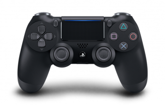 sony dualshock 4 (ps4) black (v.2) фото