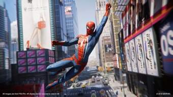 marvel's spider-man (ps4) фото