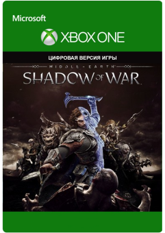 middle-earth: shadow of war (xbox one) фото