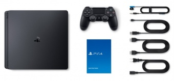 sony playstation 4 slim 1tb + fifa 21 + dualshock 4 фото