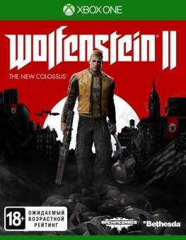 wolfenstein ii: the new colossus (xbox one) фото
