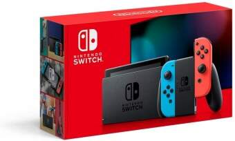 nintendo switch v2 (red/blue) фото